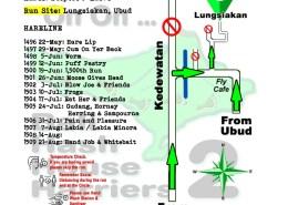 Bali Hash 2 Next Run Map #1495 Lungsiakan Ubud 15-May-21