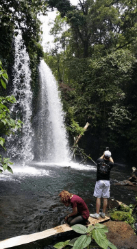 We also visit Dwi Murti Waterfalls during our Hike to Banyumala Waterfalls