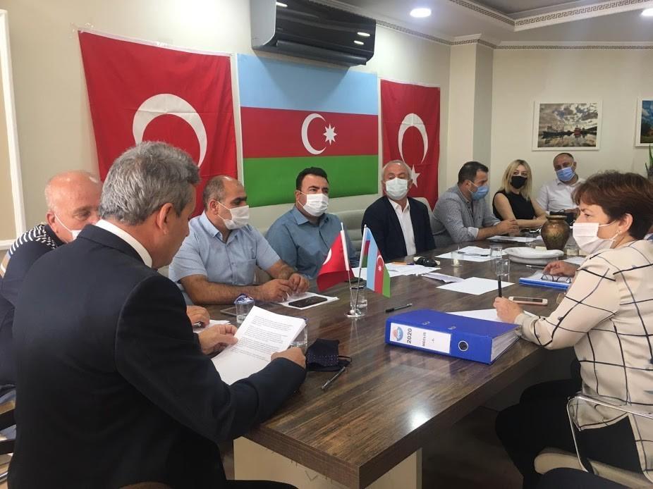 Marmara Belediye Meclisi'nde Azerbaycan'a destek