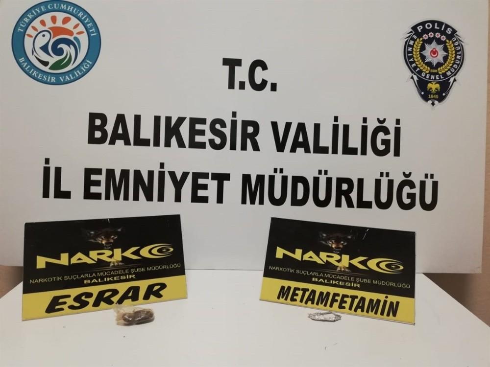 Balıkesir'de uyuşturucu operasyonu son 1 haftada 71 kişi yakalandı