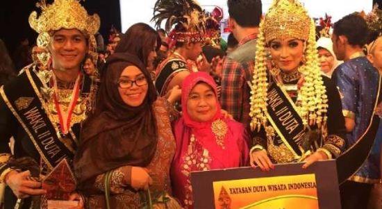 Pasangan Calon Duta Wisata Indonesia yaitu Jevon Samuel Dan Maya Elvira berasal dari Kota Balikpapan tercinta terpilih menjadi Wakill II Duta Wisata Indonesia.