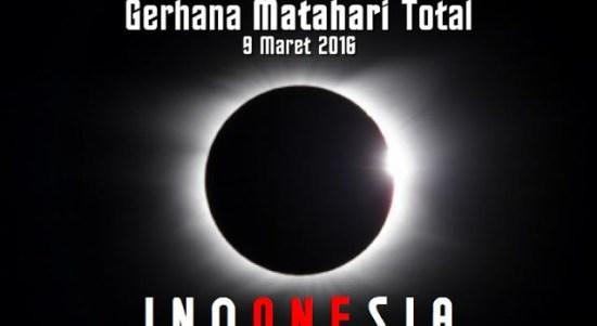 Gerhana Matahari Total 2016