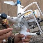 Drone Modifikasi Bermuatan Granat Di Iraq
