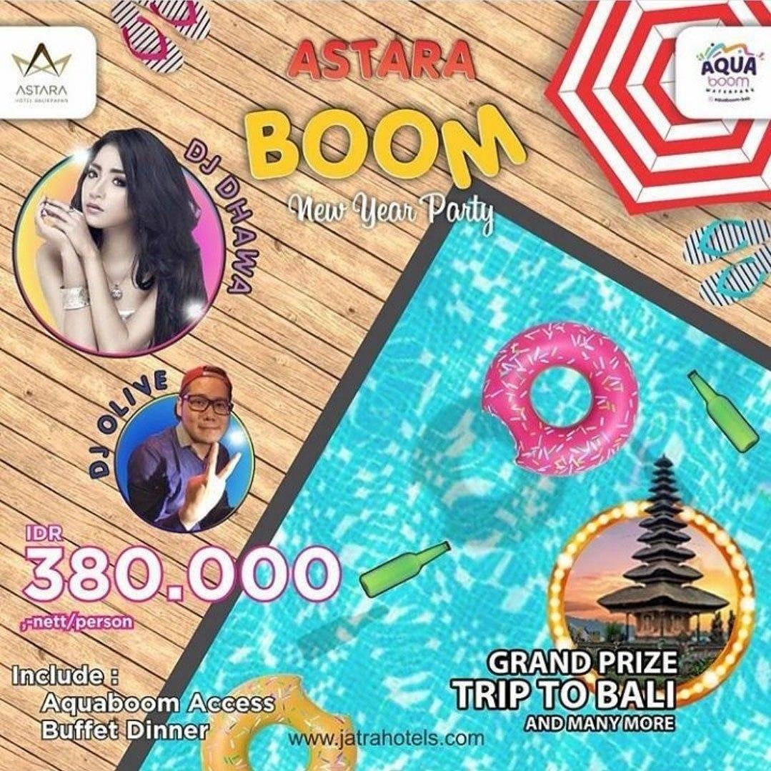 Aqua Boom Astara Balikpapan