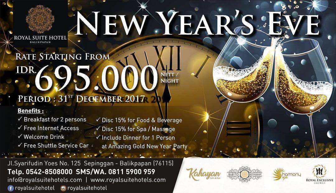 Acara Tahun Baru Royal Suite Hotel Balikpapan