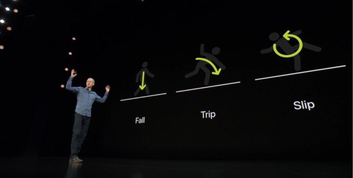 apple watch series 4 fall sensor