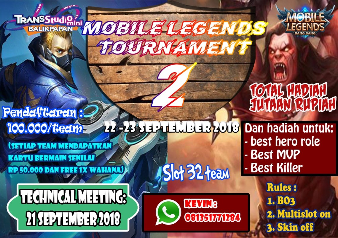 event mobile legends balikpapan