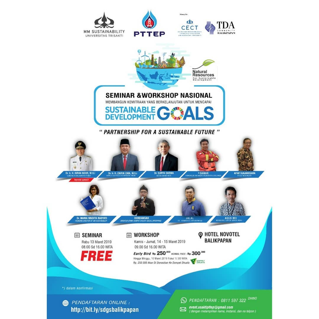 Event Balikpapan Sustainable development goals