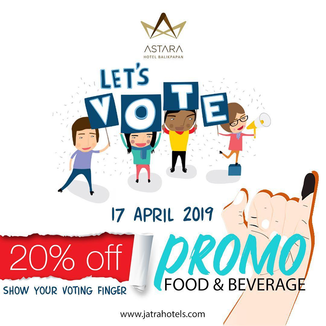Promo Food And Beverage Astara Balikpapan