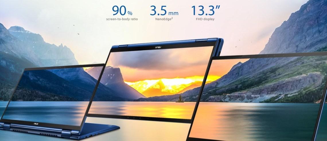 ASUS Zenbook Flip UX362 design