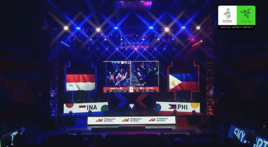 menegangkan final mobile legends Indonesia melawan filipina