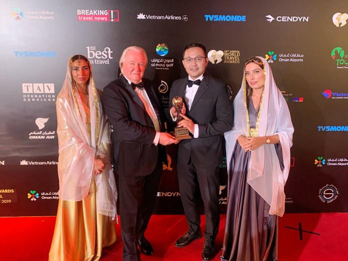 Club InterContinental Lounge Bali awarded as the World's Leading Executive Club Lounge 2019 by World Travel Awards.