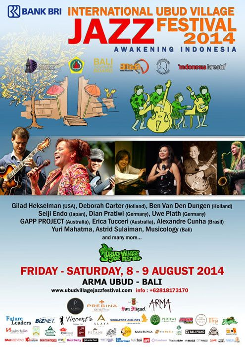 Ubud Jazz Festival 2014
