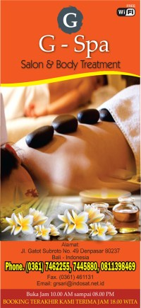 For your health and reborn please visit our spa, free 1 hour massage if you take any fullday tou ...