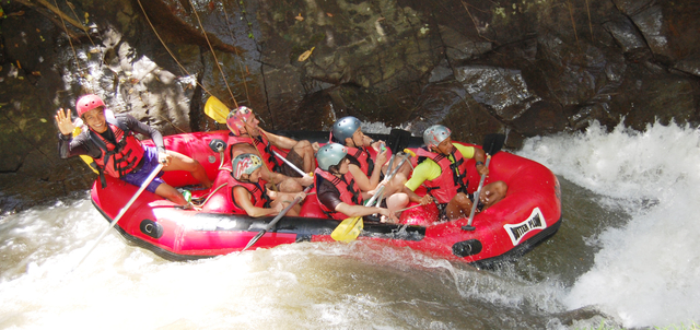White Water Rafting on Ayung River