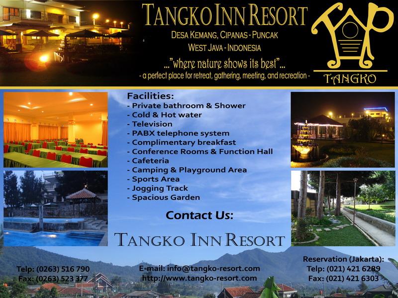 Tangko Inn Resort Cipanas, Puncak