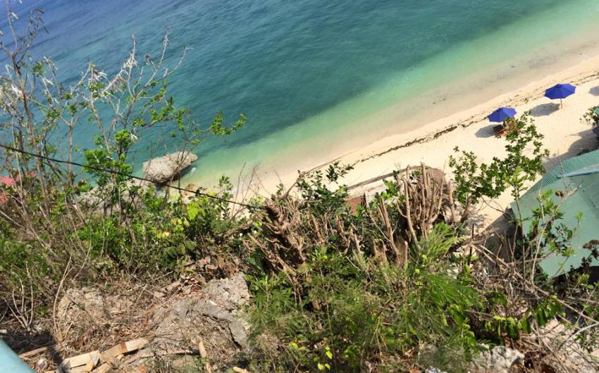 Beach front Land for sale in Padang-padang beach Pecatu Jimbaran Bali