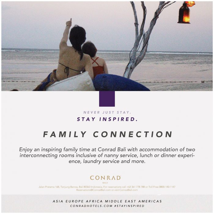 Family Package at Conrad Bali