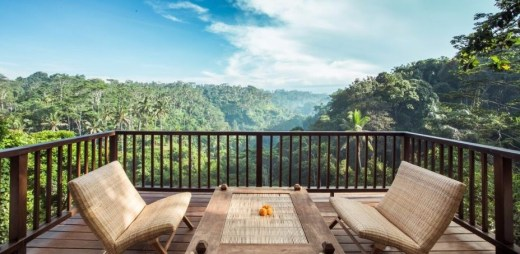 Affordable price & Spectacular view villa in Ubud