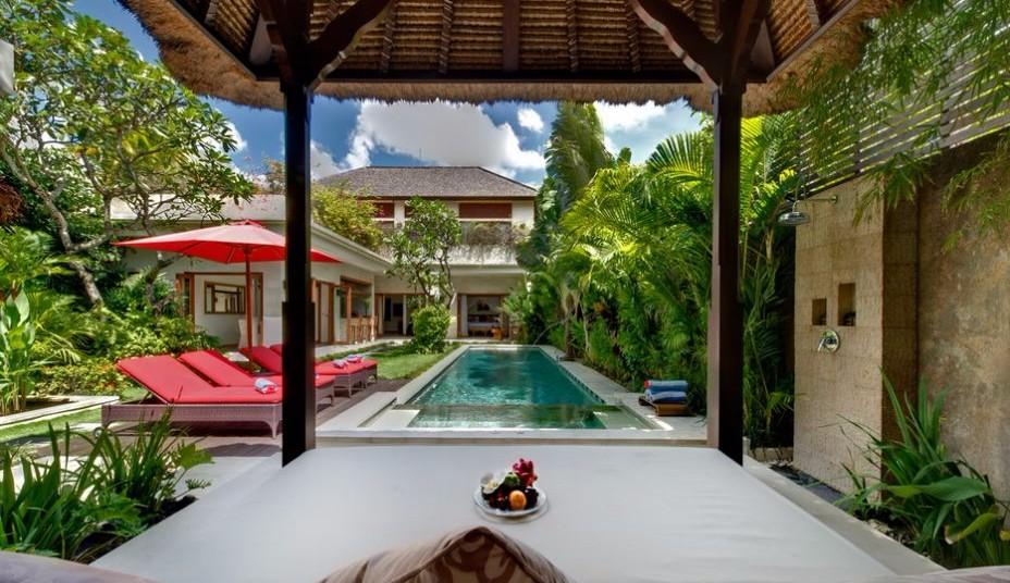 Elegant two-bedroom commercial villa for sale in the heart of Seminyak