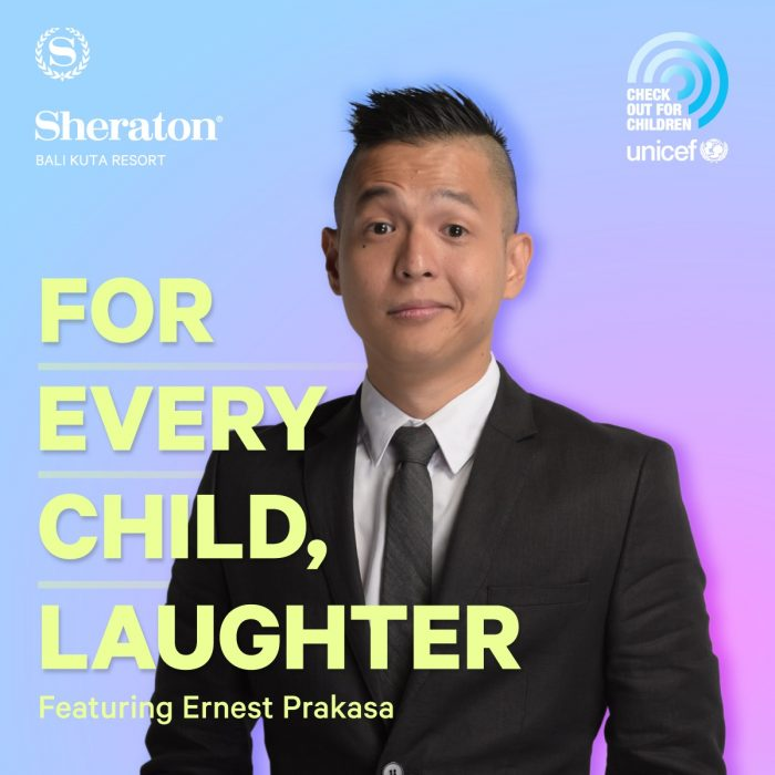 "Ernest Prakasa: ""For Every Child, Laugh"" @ Sheraton Kuta"