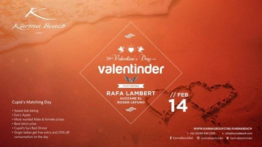 ValenTinder at Karma Beach Bali