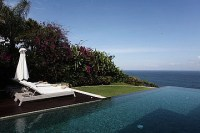 Sea view cliff front Pool Villa VBUK 300 at Bukit Hill Jimbaran Bali for sale email griyasaritou ...