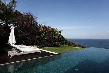 Sea view cliff front Pool Villa VBUK 300 at Bukit Hill Jimbaran Bali for sale email griyasaritou ...