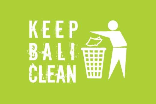 Keep Bali clean