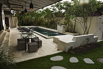 Villa ThreeBedroom RUMS 450 for lease yearly in Umalas Seminyak Kuta Bali