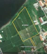 Beach front 5600 sqm Land in Singaraja North coast Bali