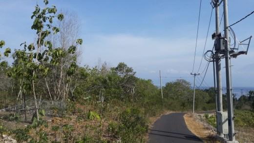 Seaview land 2000m2 in Nusa Penida Island Bali