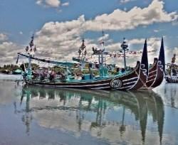 traditional ship perancak