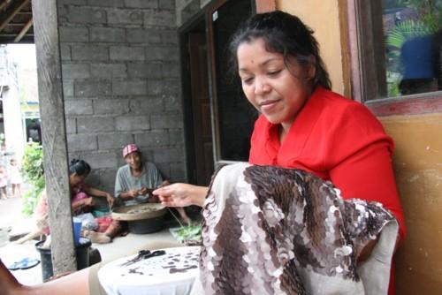 Quotidien le travail des femmes à Culik Bali 2