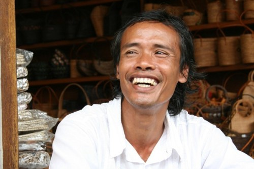 Nyoman, chauffeur à Ubud
