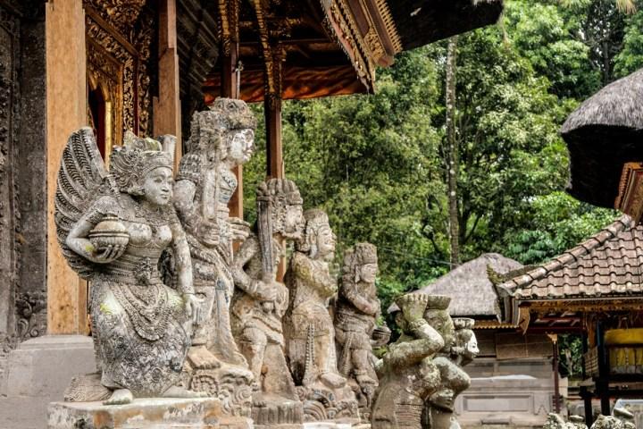 Le temple de Kehen à Bangli