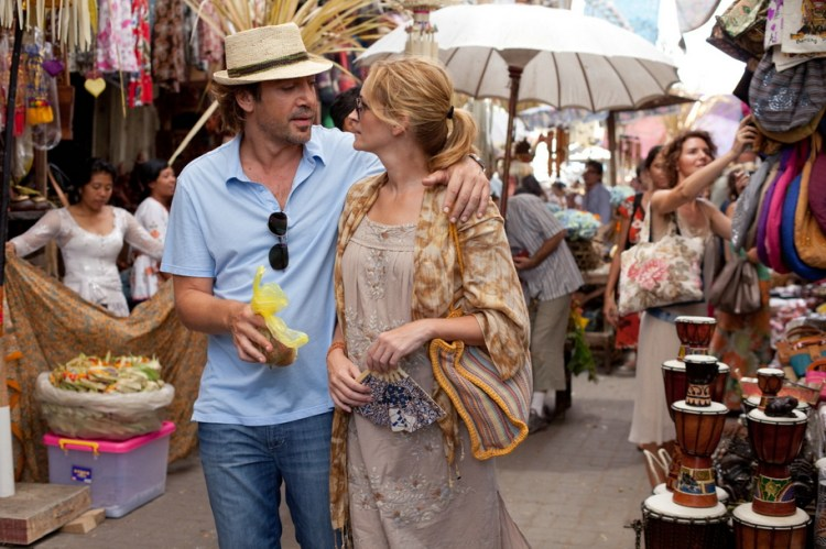 Film Eat, Pray, Love avec Julia Roberts & Javier Bardem