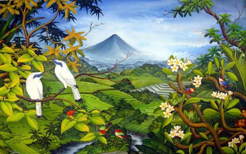 CITATION Un beau voyage est une oeuvre d'art - BALI INDONESIE