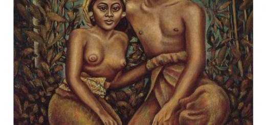 Peinture de Auke Cornelis SONNEGA, 1910-1963 (Netherlands)