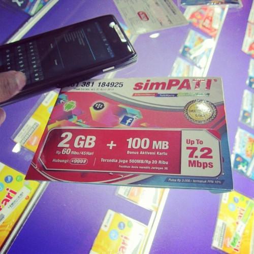Carte micro-SIM SIMPATI web illimité