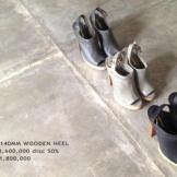 Collection Niluh Djelantik - Chaussures en cuir à talons et boucle par Niluh Djelantik