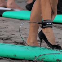 Surf en talons aiguilles à Bali 1