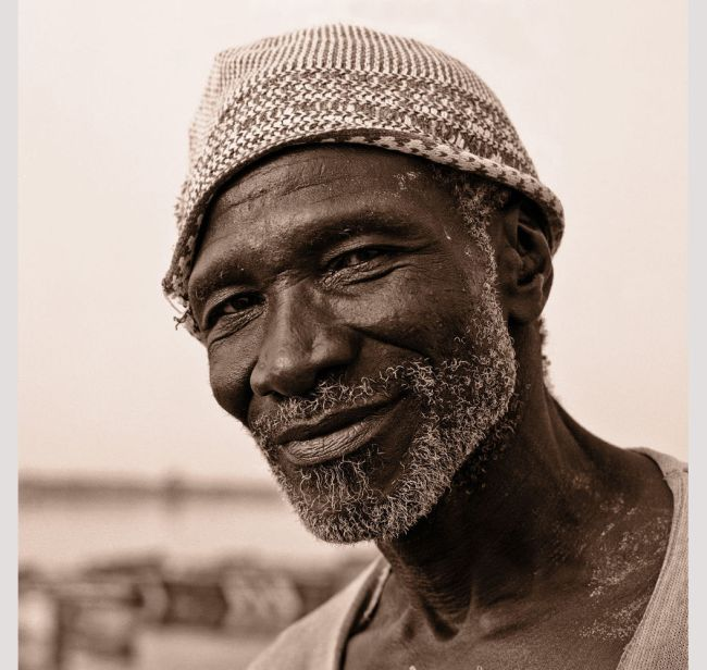 Mohamed Sadio Coulibaly, travailleur du sel par Catherine Gaudin, Senegal