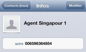 Coordonnées agent pour visa Indonesie à Singapour (3)