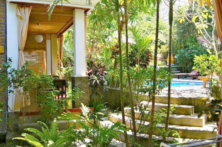 Jardin au Tropical Bali Hotel Sanur Balisolo Audrey