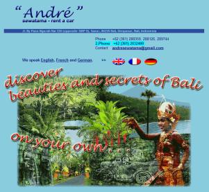 André Sewatama - Agence de location de voiture à Bali