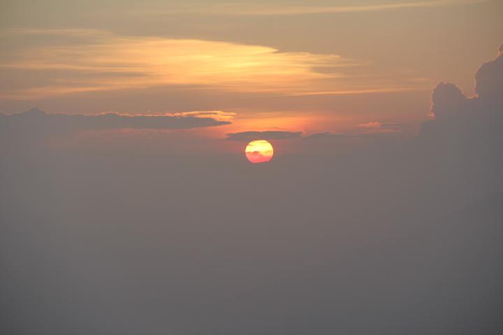 Lever de soleil au Mont Batur © Laurent