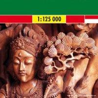 Carte Bali-Lombok-Komodo aux éditions Freytag & Berndt