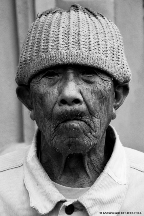 Old man from the mountain - Bali, 2014 - Maximilien SPORSCHILL
