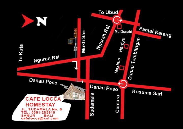 Se loger à Sanur - Exterieur - le Café Locca Homestay - Balisolo_3